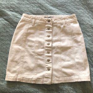 Forever 21 white skirt